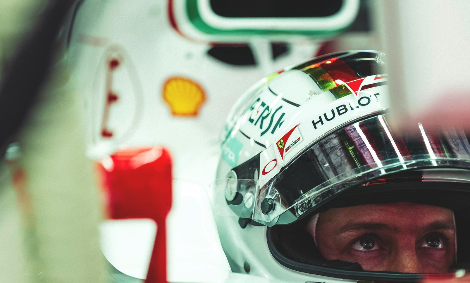 Sebastian Vettel. Foto: Ferrari/Facebook