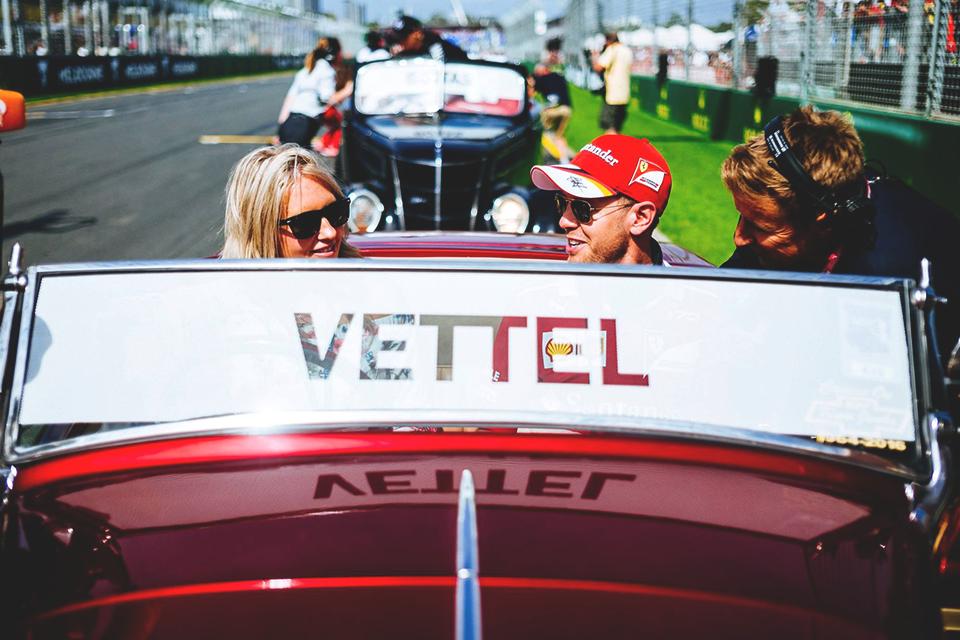Sebastian Vettel. Foto: Scuderia Ferrari/Facebook